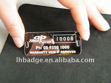 Stainless steel dog tag, Pet ID tag, metal IDog tag