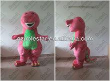 2012 cute barney christmas cartoon mascot costume party dress NO.2603