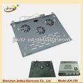 de moda de bajo precio de mesa de metal usb ventilador eléctrico de montaje de las piezas