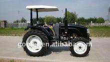 Dq404 agricultura tractor, 40HP 4 x 4 y finca cuente con como arado, Grada de discos, Cargadora de ruedas, Retroexcavadora, Cortadora de etc