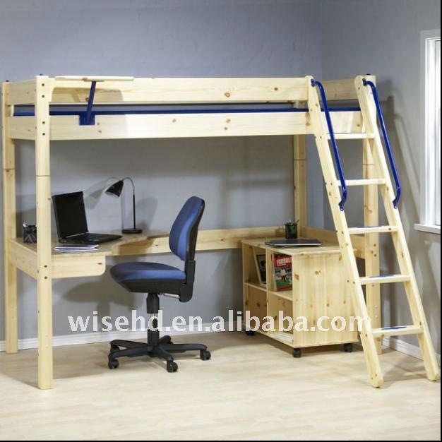Litera con escritorio imagui - Cama litera con escritorio debajo ...