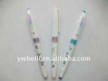 New plastic ball point student pen