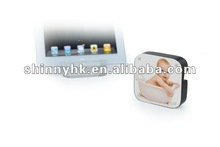 2012 new acrylic ipad stand with photo frame SI-20110611