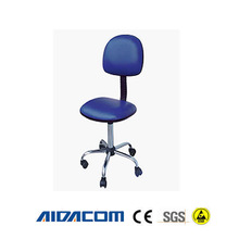 ESD antistatic chair, ESD lab chair, Adjustable Air Spring PU leather chair