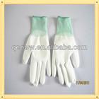 antistatic coated pu gloves