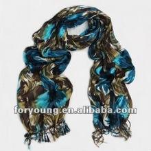 fashion viscose scarf fringe rayon shawls