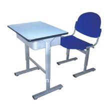 Best plastic childern desk Furniture/PP single student sets/desk and chair