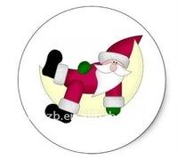 cheap christmas gift, Father Christmas design badge