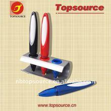 Hot Sale Mini Cheap Plastic Super Portable Pocket School Kids Office Desk Ball Pen Set for promotion