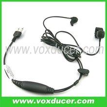 [E1106-S] For Maxon ham radio SL25 SL55 SP120 SP130 SP140 bone conduction mic earphone