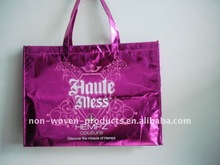 fashion bright and tear resistant pp non woven bags