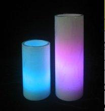 flicker wax long pillar LED Candle light