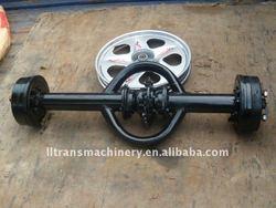 chain drive axle
