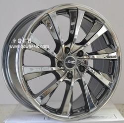 chrome car rims alloy wheel 17 inch 18 inch wheel rim