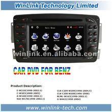 6.2 Inch Double Din GPS DVD for Mercedes SLK-W170 Car Radio