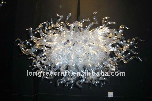 lampadari a sfera : Lampadari a bracci della sfera di vetro di art deco LR099