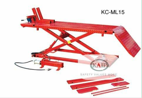KC-ML15 pneumatic motorcycle lift table