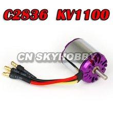 Outrunner brushless motor hobby C2836 KV1100