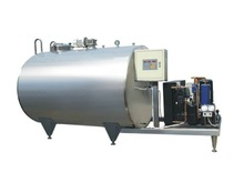 HORIZONTAL DIRECT COOLING MILK TANK