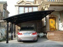 FREESKY single aluminum carport canopy. carport shades, cantilever carport