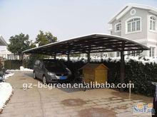 Easily assembled car port, custom mobile carport tent, single slope carports