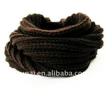 plain knit neck warmers