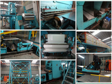 aluminum coil coating/painting/embossing production line