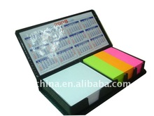 hot sales memo block with holder