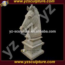 antique marble horse head sculpture for sale