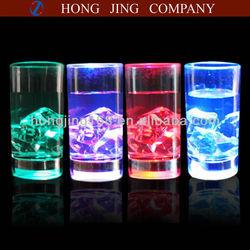 liquid actived led shot glass
