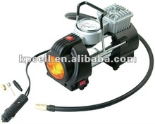 12v heavy duty meatl car air compressor with work light