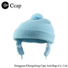 Wholesale acrylic baby knitting cap