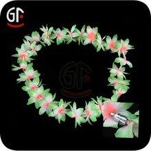 Flashing Silk Flower Lei