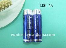 1.5v AA alkaline battery LR6 size AA AM3 1.5v battery(Eunicell brand)