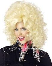 País ocidental Diva peruca loira em - feminino perucas