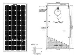 60Wp Price Per Watt Solar Panels