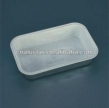 Fluggesellschaft aluminiumfolie lebensmittel-container