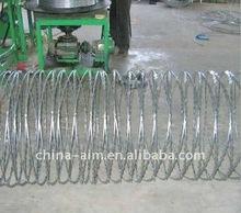 hot dipped galvanized cross type razor barbed wire