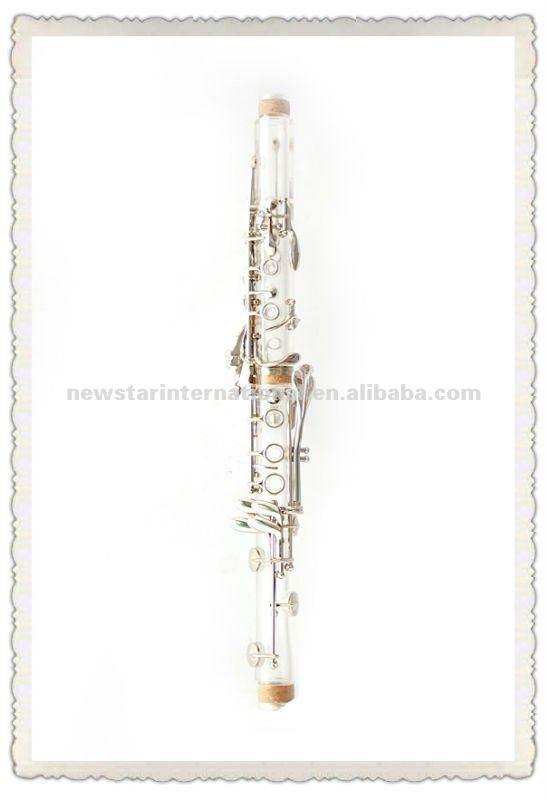 Amber/ transparente clarinete hcl-307