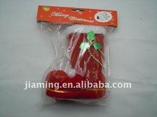 plastic stocking shoe cane ornament