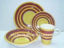 Stoneware dinnerware, Stoneware tabletop ware