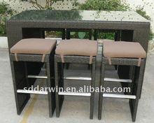 Wicker Bistro and Pub Furniture (SV-2032)