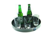 Plastic beer serving trays