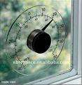 """4 1/4"""" janela transparente- montado termômetro ao ar livre"""