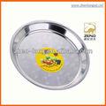 40.5 cm sello de diseño de alimentos de acero inoxidable titular / comida / servicio de alimentos bandeja