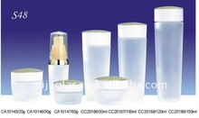 frosted glass bottles with dividers for sales 100ml/120ml