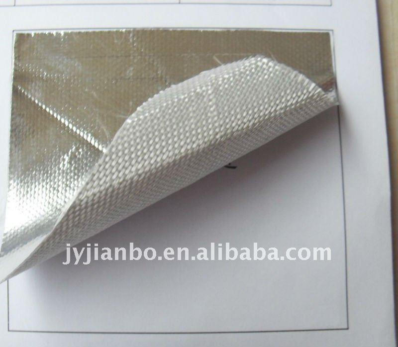 Fiberglass Cloth Covering Aluminium Fire Resistant
