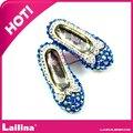 engraçado bonito pequeno sapatos strass broche bowknot lindo balé sapatos broche pin