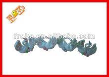cerámica swan par decorativos para el hogar