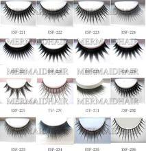 wholesale black natural & fake eyelash